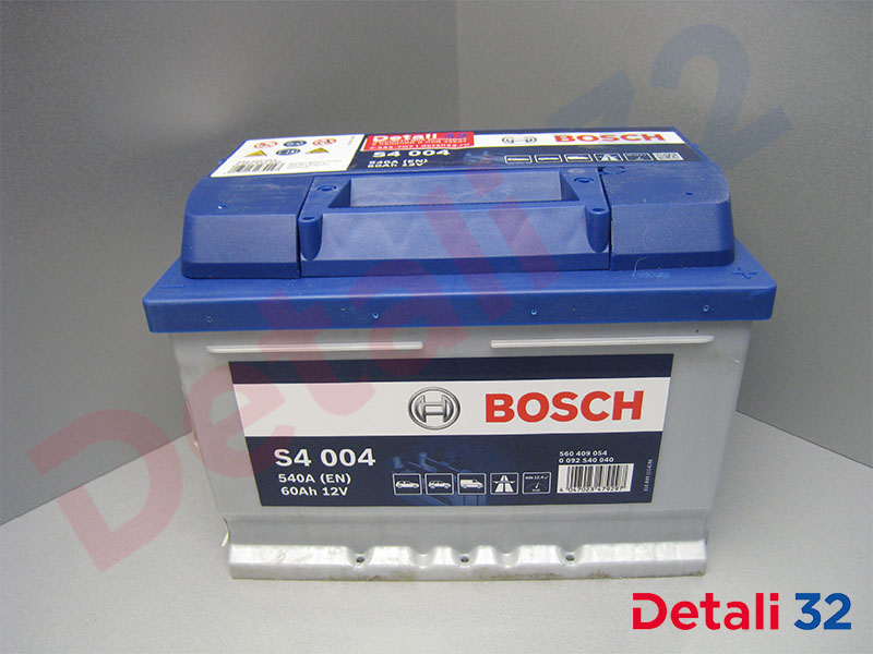 Аккумуляторная батарея Bosch S4 Silver [12V 60Ah 540A B13] Форд Фокус I (Ford Focus I), 0092s40040